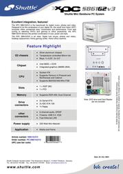 Shuttle SB61G2V3/4 Leaflet
