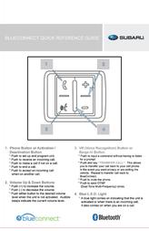 Subaru BlueConnect Leaflet