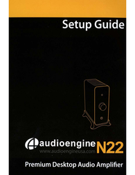 Audioengine N22 Owner's Manual