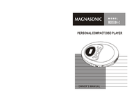 Magnasonic MCD5304-2 User Manual