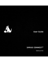 SiriusXM SIRIUS SC-VDOC1 Car Kit Owner's Manual