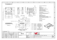Wuerth Elektronik Würth Elektronik Content: 1 pc(s) 693072010801 Data Sheet