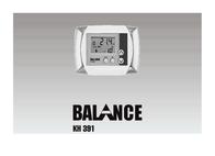Balance KH 391 User Manual