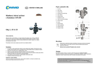 Mauk 908 Pool skimmer inclusive of pump and fountain Black 908 Leaflet