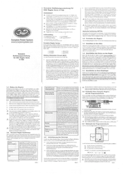 Scorpion Operating voltage continuous current connector system SP-4S-COM90A-ESC-V3 Data Sheet