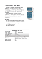 HOBBES GIGAtest-E E-650 Merkblatt
