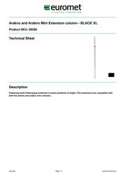 Euromet 09269 Leaflet