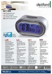 Dexford RCT 100 RCT100 Leaflet
