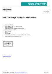 Mountech PTB11B Dépliant