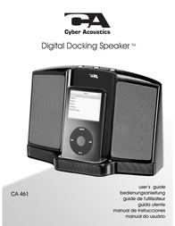 Cyber Acoustics CA-461 User Manual