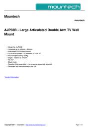 Mountech AJP33B Dépliant