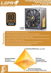 LEPA B750-MA Leaflet