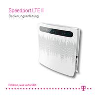 Telekom WLAN modem router Built-in modem: LTE 2.4 GHz 300 Mbit/s 40264880 User Manual