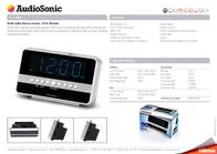 AudioSonic CL-1482 Leaflet