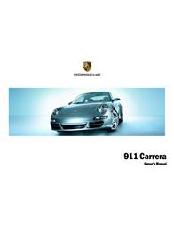 Porsche 911 Carrera Owner's Manual