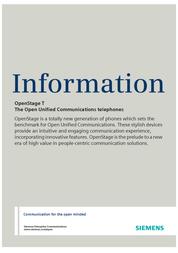 Unify OpenStage 30 T Lava L30250-F600-C187 User Manual