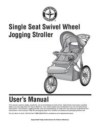 Schwinn Jogging Stroller User Manual