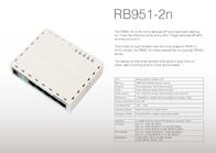 Mikrotik RB951-2N Leaflet