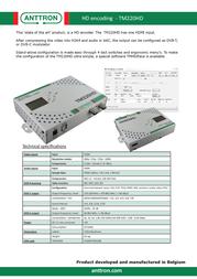 Anttron TM220HD 189220 Leaflet