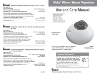 Kaz V150SGN User Manual