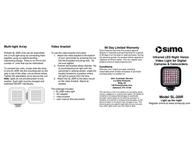 Sima SL-20IR User Manual