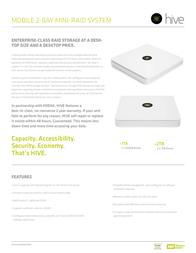 Hive Mobile 2x 500GB 5021 User Manual