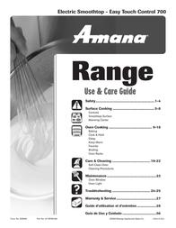 Amana 8113P454-60 User Manual