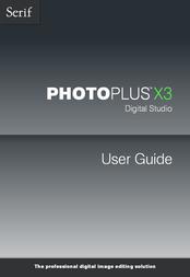 Serif PhotoPlus X3 ECD518624M User Manual