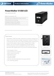 Aiptek VI 850 LCD Leaflet