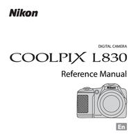 Nixon Nikon L830 Verweishandbuch