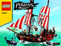 Lego Pirates LEGO® PIRATES 70413 GROßES PIRATENSCHIFF 70413 Data Sheet