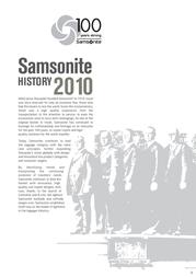 Samsonite Unity ICT Formal 186831041 User Manual