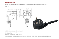 Hawa C13/C14 appliances Cable [ PG plug - IEC socket C13 10A] Black 2 m 1008230 1008230 Data Sheet