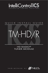 Niles Audio TM-HD/R User Manual