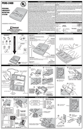 Gitzo Medical Alarms PERS-2400 Leaflet