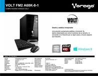 Vorago Volt FM2 A68K-8-1 VOLT FM2 A68K-8-1 Leaflet