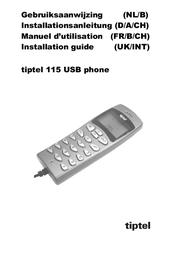 Tiptel 115 USB Phone TIPTEL115USB User Manual