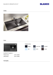 BLANCO 519332 User Manual