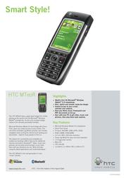 Qtek HTC MTeoR Smartphone HTC093510 Leaflet