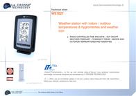La Crosse Technology WS7027 WS7027IT-WHI-S User Manual