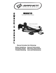Barnett Crossbows wildcat c5 User Manual