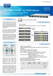 Infortrend ESDS-B12F-R1430-MB Leaflet