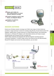 Cnet CDA-06 Leaflet