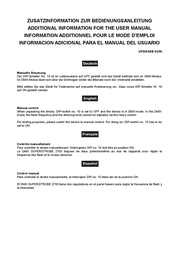 Eurolite Superstrobe 2700 52202176 Data Sheet