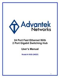 Advantek Networks ANS-2402G User Manual
