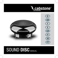 Cabstone SoundDisc 93962 Data Sheet