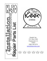 Henkel KEEN K-50 User Manual