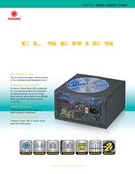 CoolMax CL-500B Leaflet