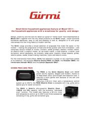 Girmi FN09 FN-09 Leaflet