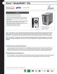 AIC 1TB XT-HDD-1TBCT1-A1 Leaflet